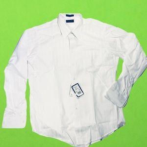 NWT Christian Dior Monsieor white dress up shirt